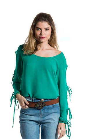 BLUSA LACOS LUCY-VERDE
