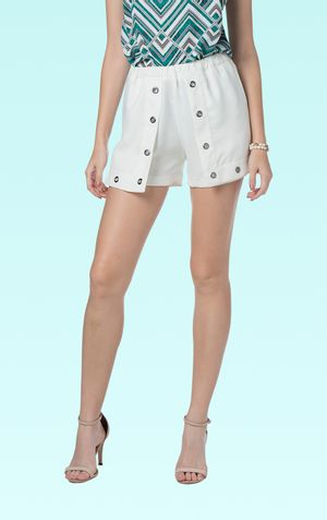 SHORTS ILHOS BELLA-OFF WHITE