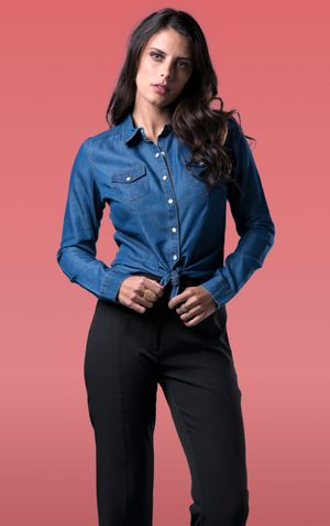 CAMISA JEANS-JEANS